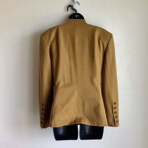 Escada Jackets & Coats - ESCADA Suit Wool Camel Jacket and Skirt Size 38
